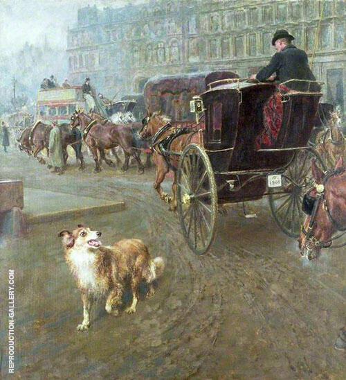Lost or Strayed 1905 By Briton Riviere
