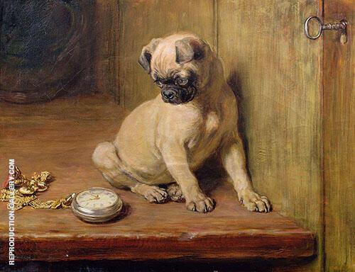 Tick Tack 1881 By Briton Riviere