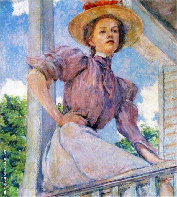 A Summer Girl 1896 By Robert Lewis Reid