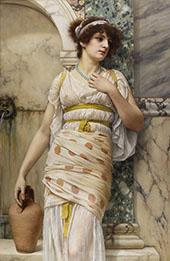 At the Fountain 1893 By John William Godward