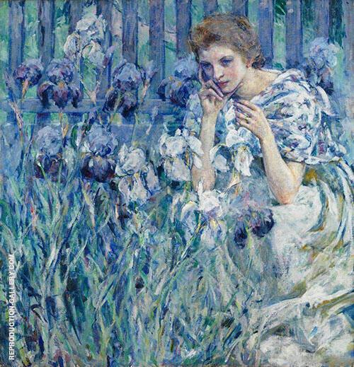 Fleur De Lis By Robert Lewis Reid