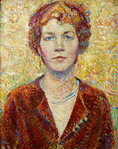 Portrait of a Woman 1920 By Robert Lewis Reid