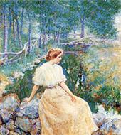 Spring 1906 By Robert Lewis Reid
