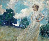 Summer Breezes 1910 By Robert Lewis Reid