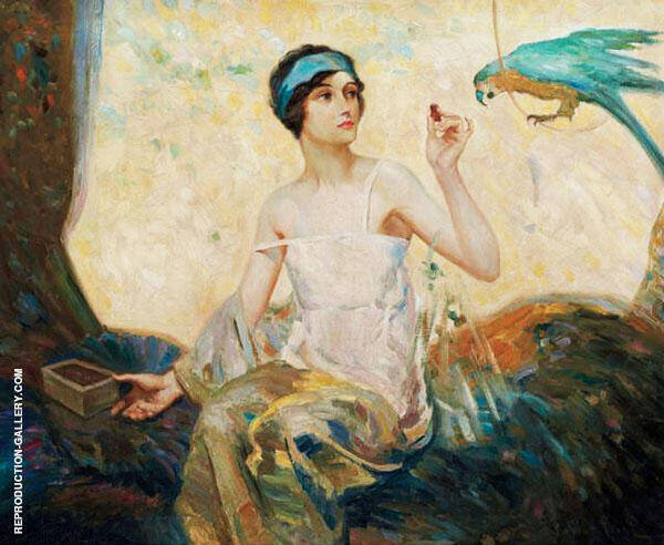 Tempting Sweets 1924 By Robert Lewis Reid