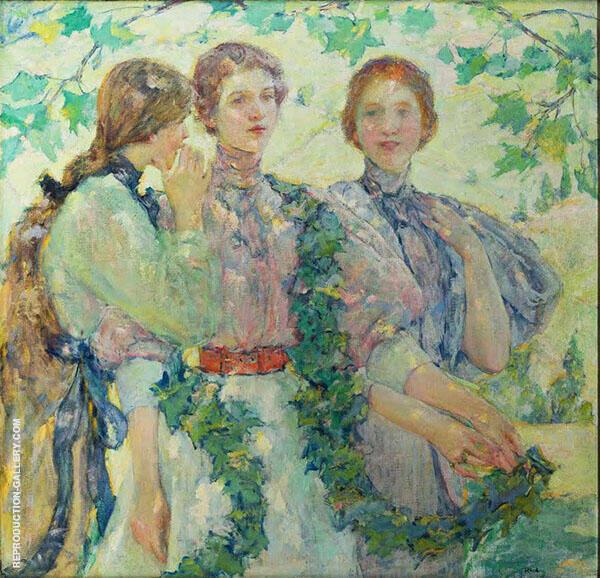 The Trio 1898 By Robert Lewis Reid