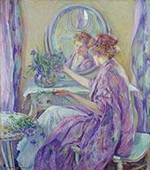 The Violet Kimono 1911 By Robert Lewis Reid