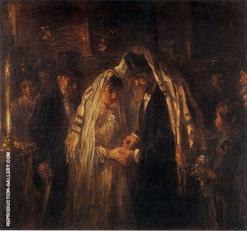 A Jewish Wedding 1903 By Jozef Israels