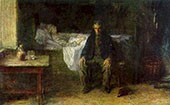 Alone in The World 1881 By Jozef Israels