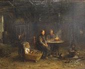 Boerenmaaltijd in Delden By Jozef Israels