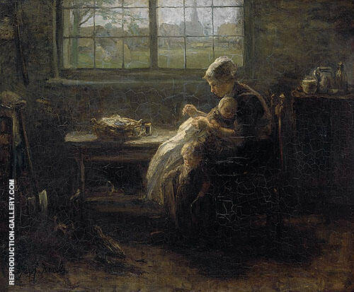 Mother Wealth 1890 By Jozef Israels