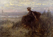 OnThe Dunes By Jozef Israels