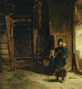 Peasant Children By Jozef Israels