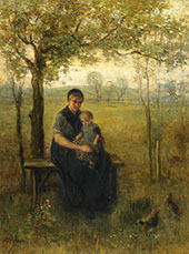 The Madonna of Drenthe By Jozef Israels