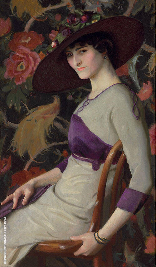 La Russe 1913 By William M Paxton