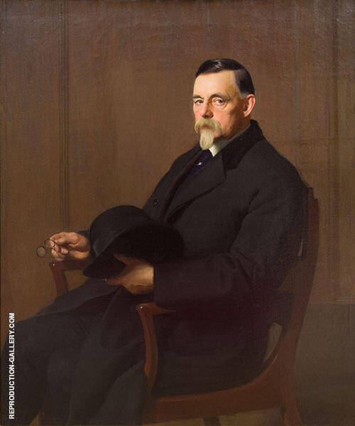 Portrait of James Paxton By William M Paxton