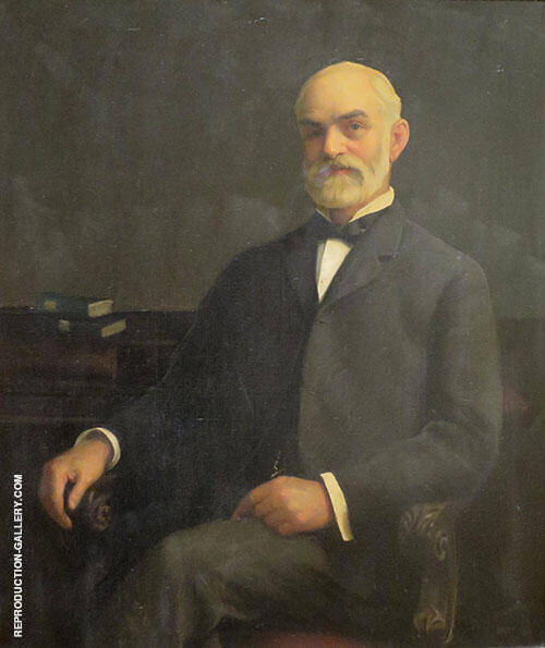 Portrait of Mr Paxton's Father By William M Paxton