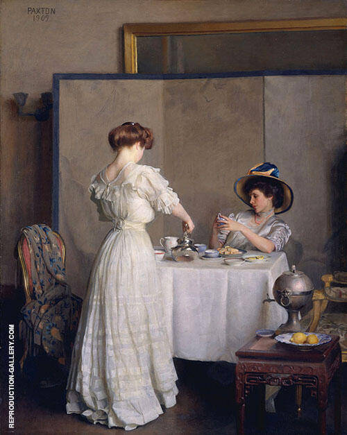Tea Leaves 1909 By William M Paxton