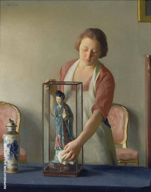 The Figurine 1921 By William M Paxton