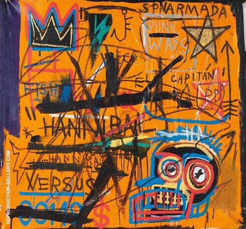 Hannibal By Jean-Michel-Basquiat