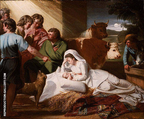 Nativity c1776 By John Singleton Copley