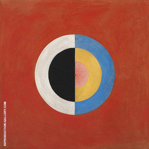The Swan No 17 Group IX Painting By Hilma AF Klint - Reproduction Gallery