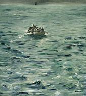 Rochefort's Escape c1881 By Edouard Manet