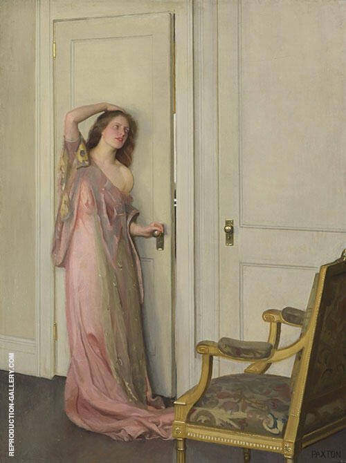 The Other Door Painting By William M Paxton - Reproduction Gallery