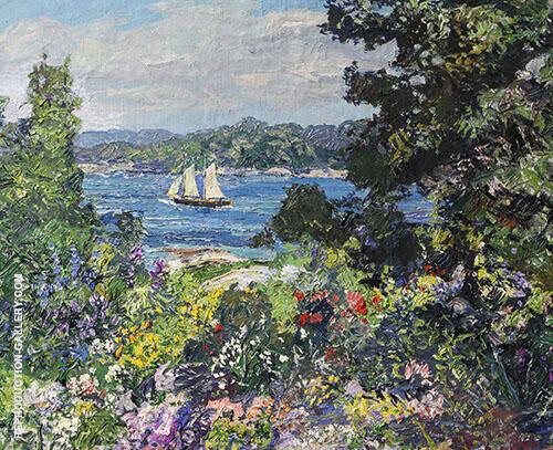 Boothbay Garden By Edward Willis Redfield