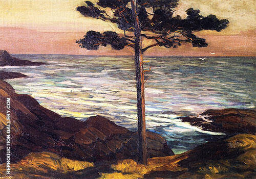 Boothbay Maine By Edward Willis Redfield