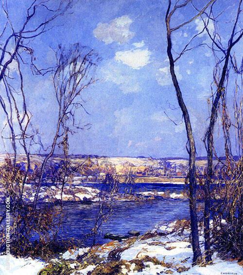 Breaking of Winter By Edward Willis Redfield