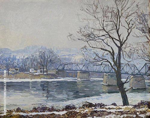Centre Bridge By Edward Willis Redfield