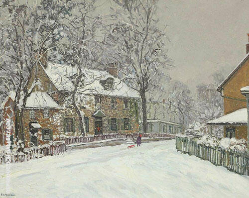 Christmas Morning 1932 By Edward Willis Redfield