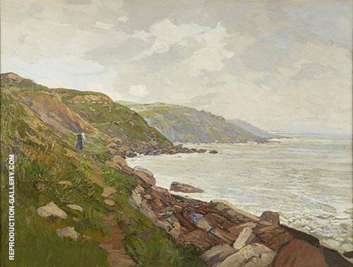 Coast of France By Edward Willis Redfield