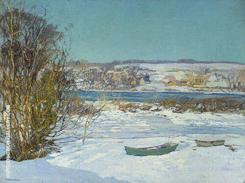 Frozen Creek By Edward Willis Redfield