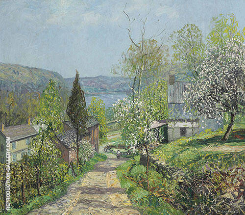 Hillside and Valley Point Pleasant By Edward Willis Redfield