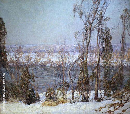 La Riva Del Fiume Lambertville New Jersey 1905 By Edward Willis Redfield