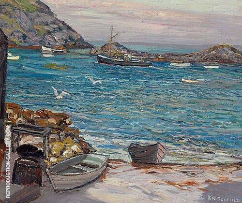 Off Manan By Edward Willis Redfield