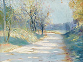 Sunlight and Shadows By Edward Willis Redfield