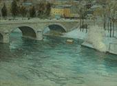 The Bridge of Charenton 1898 By Edward Willis Redfield