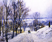 The Green Sleigh By Edward Willis Redfield