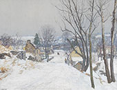 The Road to Centre Bridge By Edward Willis Redfield