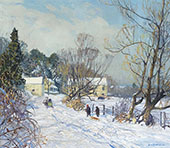 The Road to The Mill By Edward Willis Redfield