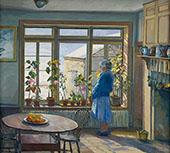 The South Window By Edward Willis Redfield