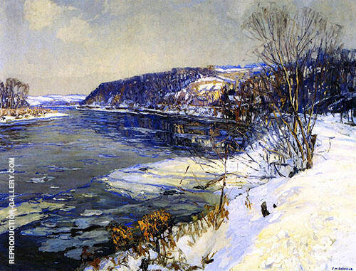 The Upper Delaware 1918 By Edward Willis Redfield
