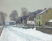 The Village of Center Bridge 1907 By Edward Willis Redfield