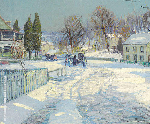 The Village Store 1908 By Edward Willis Redfield