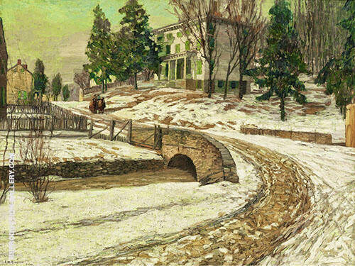 The White House 1909 By Edward Willis Redfield