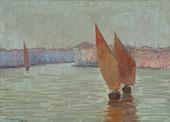Venice By Edward Willis Redfield