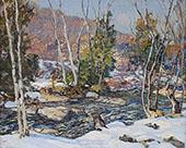 Winter Harmony Winter Evening 1936 By Edward Willis Redfield